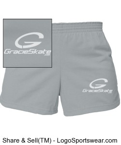 Girls MJ Soffe Cheerleading Short Design Zoom